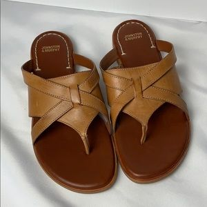 - NWOT Johnston and Murphy brown sandals